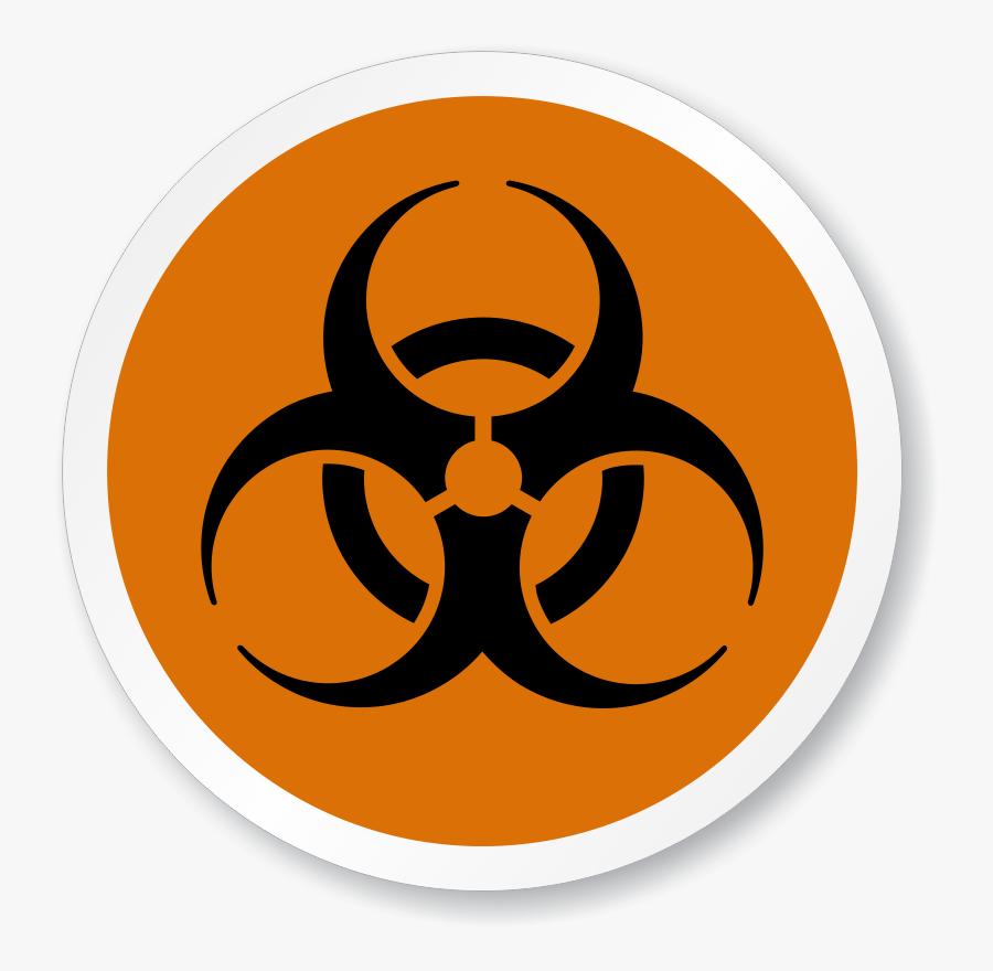 Poison Clipart Infectious Waste - Biohazard Symbol Green ...