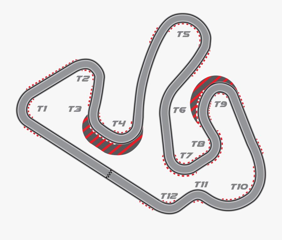Transparent Go Kart Png - Go Kart Track Map, Transparent Clipart