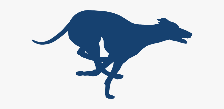 Running Dog Silhouette, Transparent Clipart