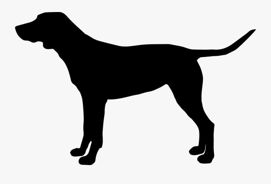 Dog Stick Figure 2, Buy Clip Art - Rump Of A Dog, Transparent Clipart