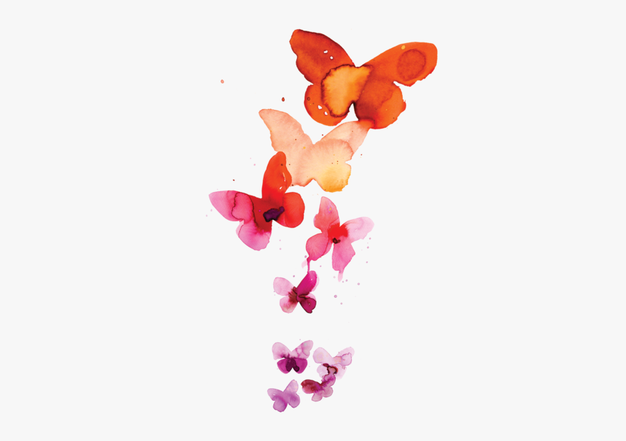 Watercolor Butterfly Art Painting Free Download Png - Watercolor Butterfly, Transparent Clipart