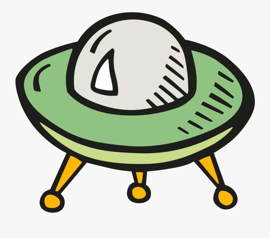 Alien Ship 2 Icon - ยาน เอ เลี่ยน Png, Transparent Clipart