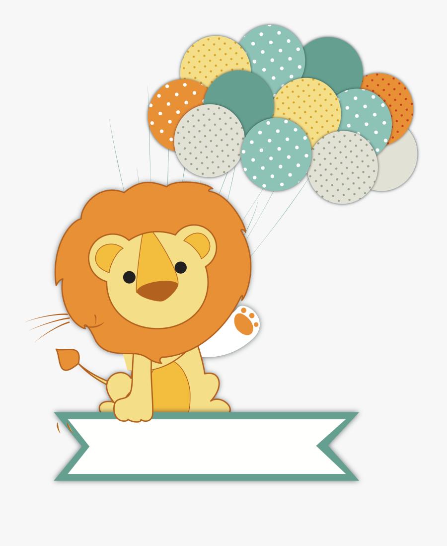 Wedding Invitation Lion Baby Shower Infant - Baby Shower Lion, Transparent Clipart