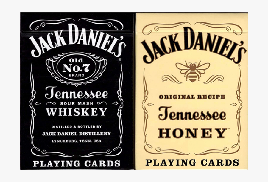 Jack Daniel S Black Honey Set Playing Cards By Uspcc Jack Daniels Tennessee Whiskey Logo Free Transparent Clipart Clipartkey