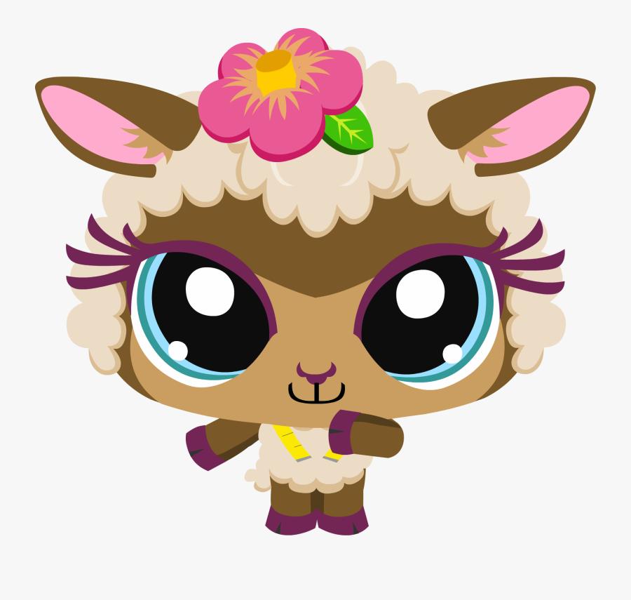 Clip Art Little Clipart - Littlest Pet Shop Online Characters, Transparent Clipart