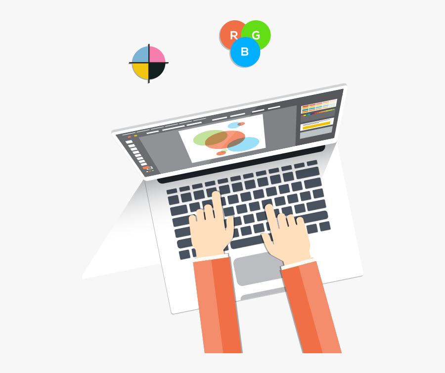 Aleric Marketing Web Online - Graphic Designer Work Clipart, Transparent Clipart