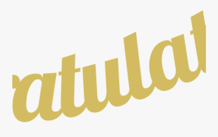 Congratulations Clipart Animated Congratulations Clipart - Calligraphy, Transparent Clipart