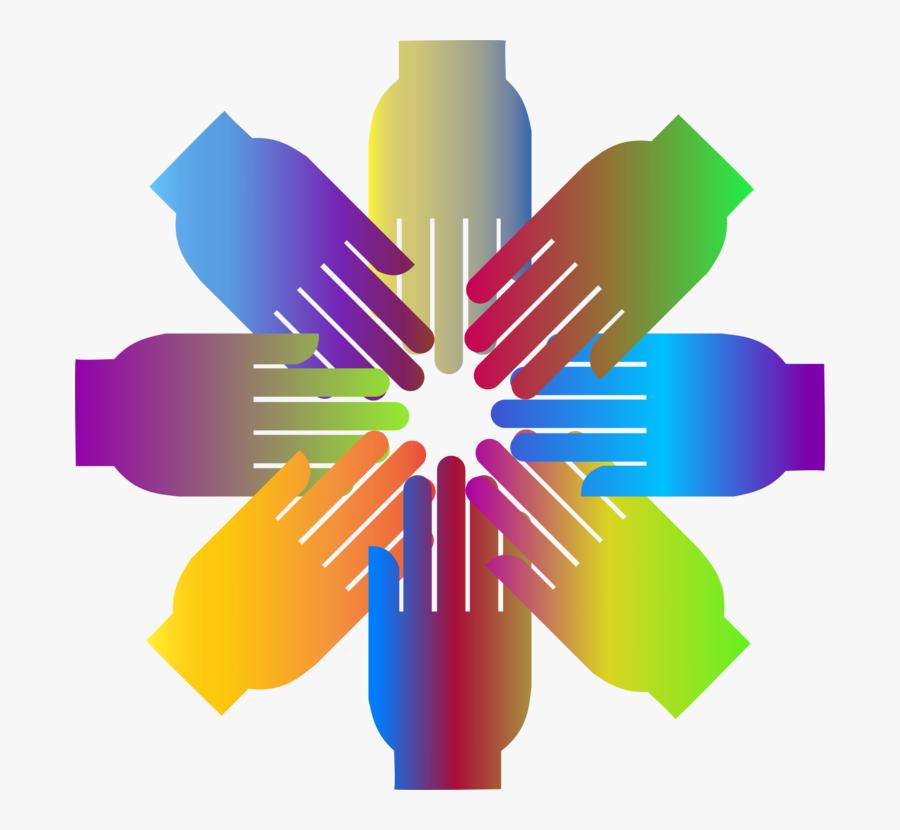 Wheel,symmetry,symbol - Cooperation Clip Art, Transparent Clipart