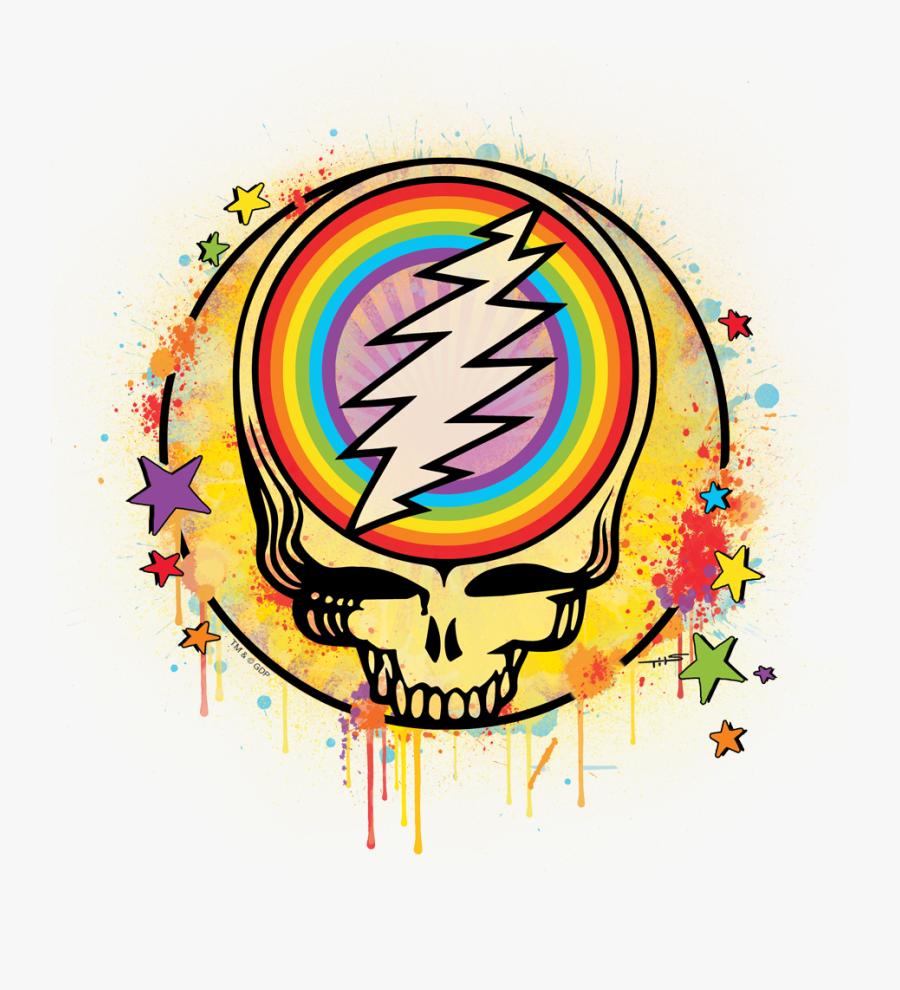Grateful Dead Bear Clip Art - Grateful Dead Steal Your Face Logo, Transparent Clipart