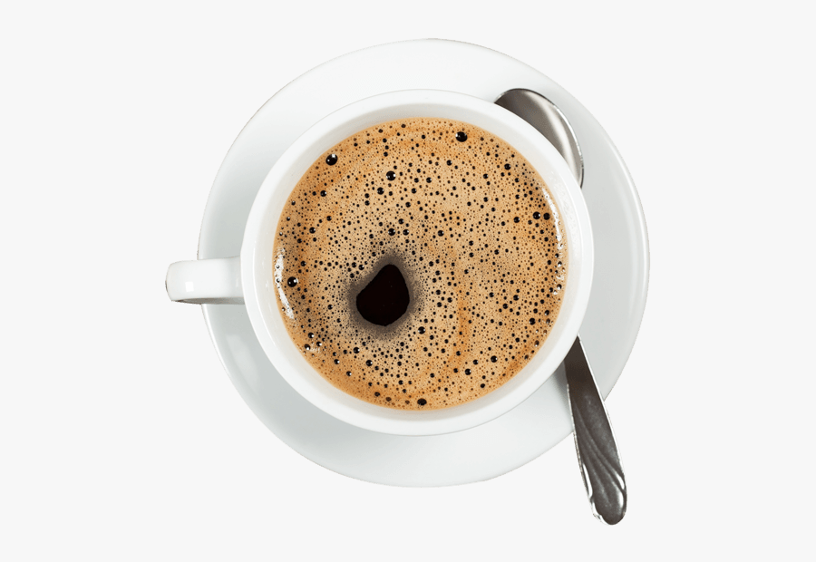 Coffee, Restaurant Menu - Coffee Cup Top View Png, Transparent Clipart