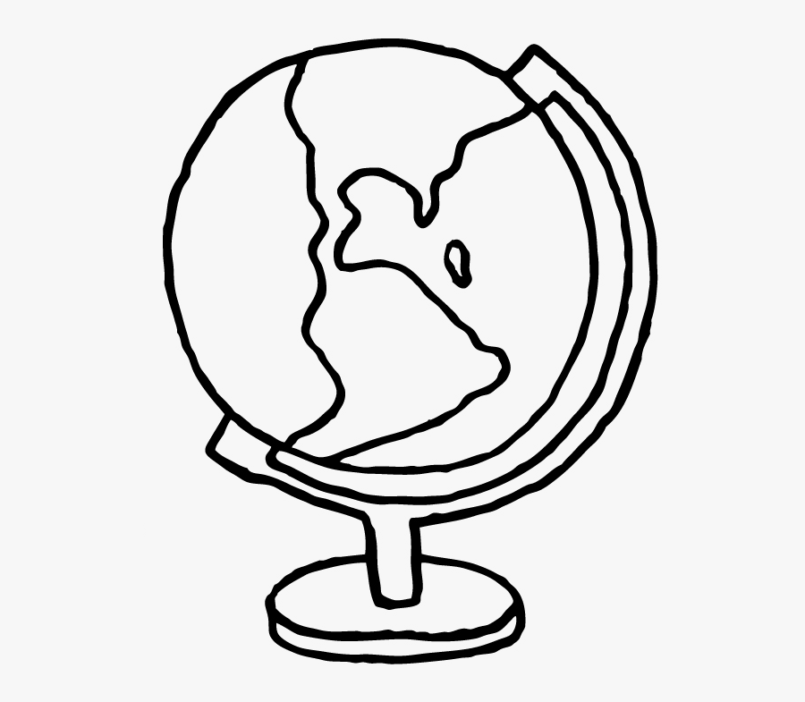 Graphic Freeuse Stock Simple Globe At Getdrawings - Draw A Simple Globe, Transparent Clipart