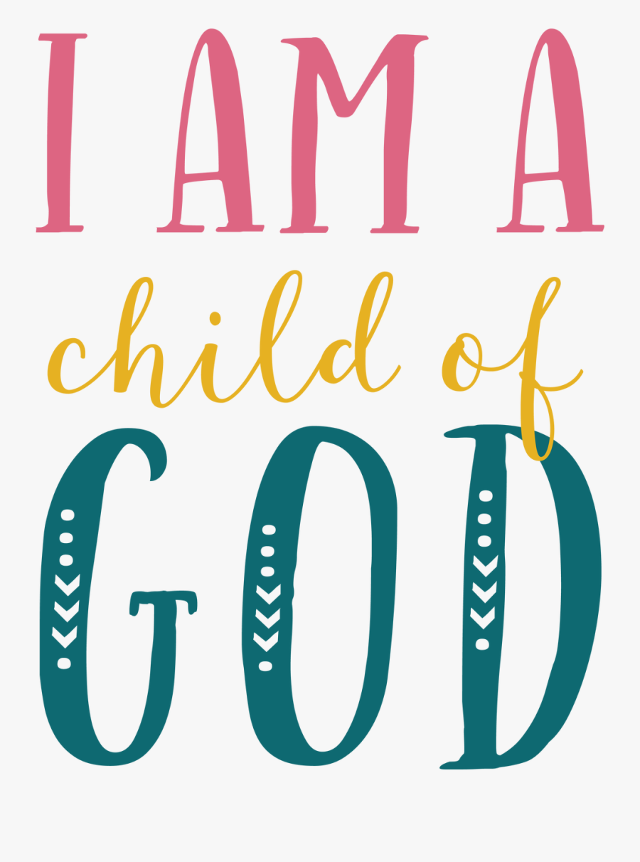 Clip Art Svg Cut File Snap - Child Of God Svg, Transparent Clipart