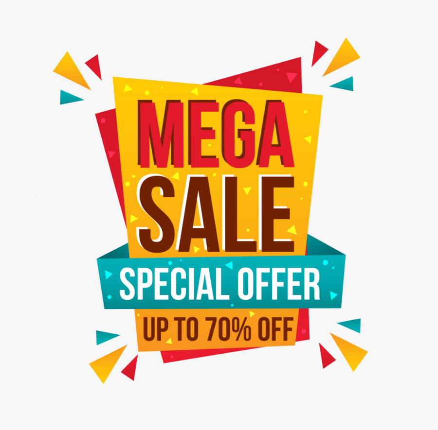 Big Sale Promotion Png Image - Big Sale Offer Png, Transparent Clipart