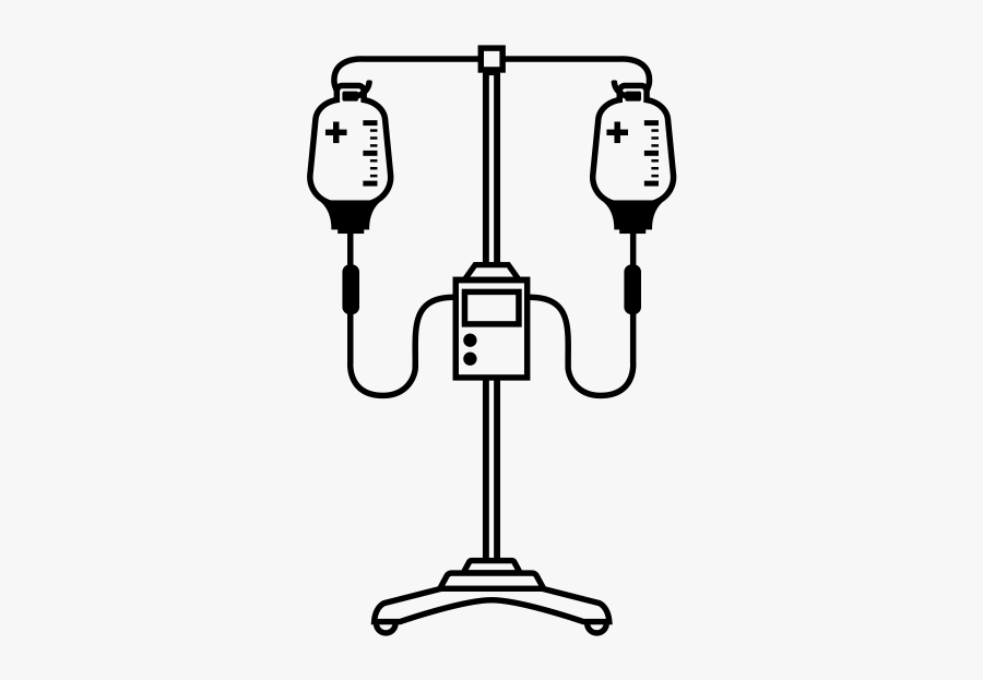 "Iv Pump Rubber Stamp""  Class=""lazyload Lazyload Mirage - Cartoon Iv Pump, Transparent Clipart"