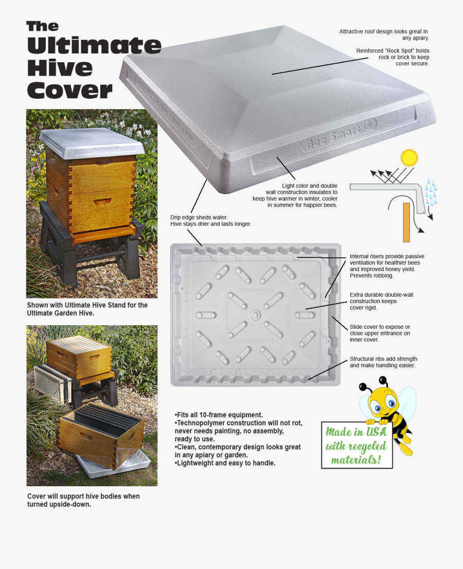Ultimate Hive Cover [uhc 1 / Uhc 8] - Cute Bee Clip Art, Transparent Clipart