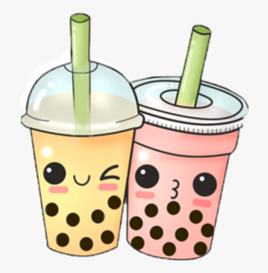 Transparent Bubble Tea Png - Bubble Tea Cartoon Png, Transparent Clipart