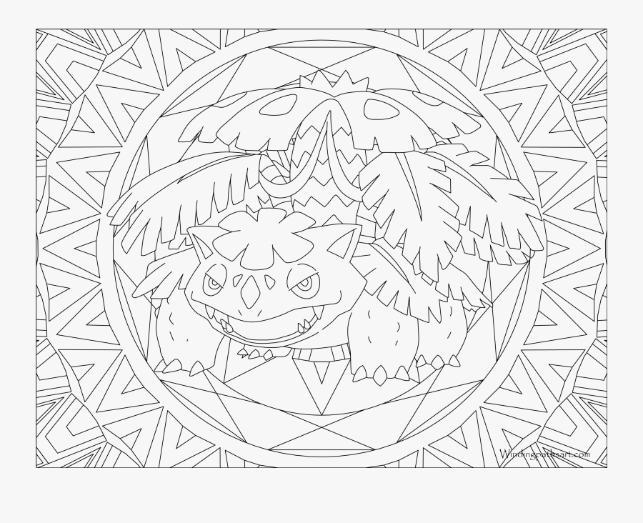 003 Venusaur Pokemon Coloring Page - Pokemon Coloring Pages Venusaur, Transparent Clipart