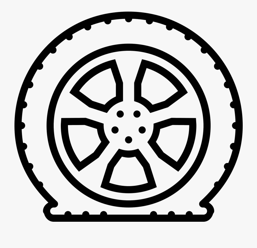 Flat Tire Drawing At Getdrawings - Moral Group Of Companies Logo, Transparent Clipart