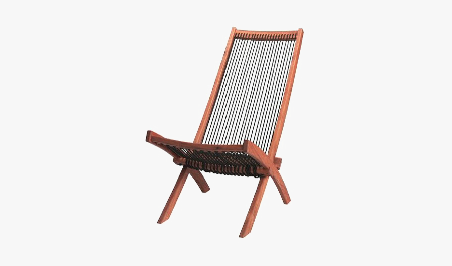 Patio Chair Png Clipart - Mid Century Deck Chair, Transparent Clipart