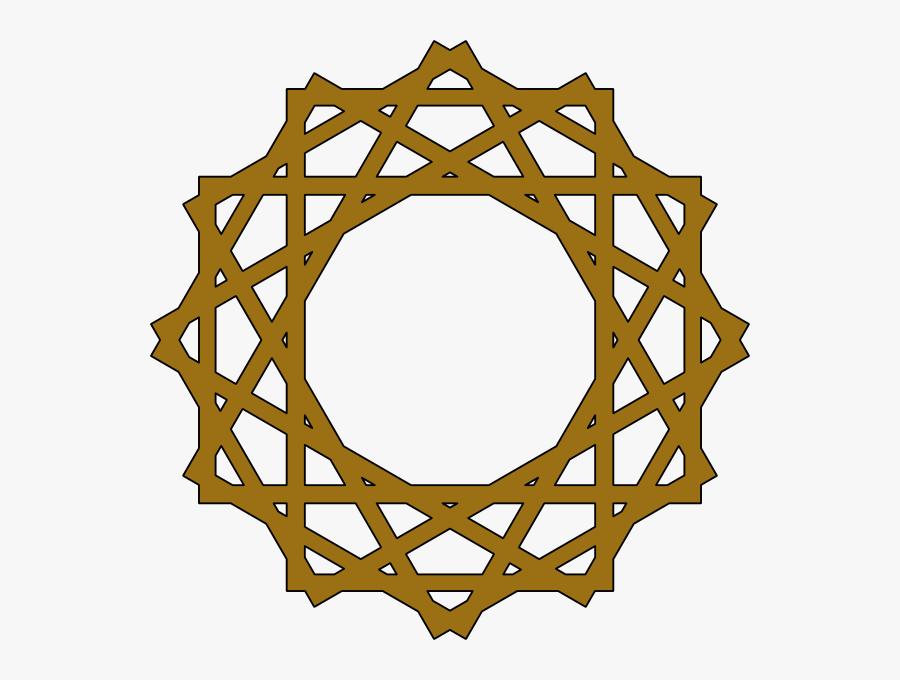 Arabic Geometric Pattern Png, Transparent Clipart