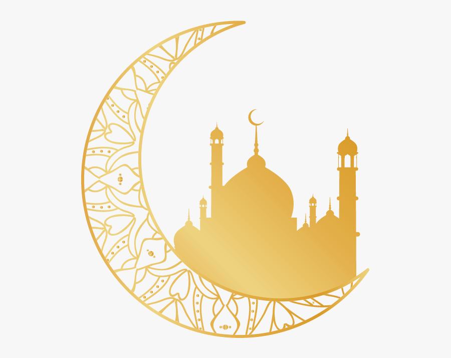 Transparent Islamic Moon Png, Transparent Clipart