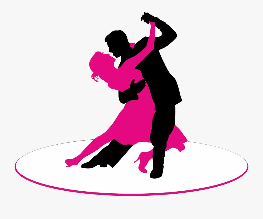 Ballroom Dance Dance Studio Salsa First Dance - Man And Women Dancing, Transparent Clipart