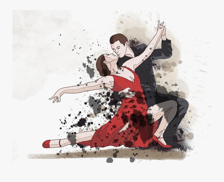 And Ballet For Ballroom Dancing Dance Men Clipart - Ballroom Dance, Transparent Clipart