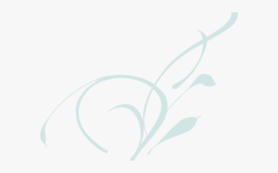 White Swirl Cliparts - Vine Clip Art, Transparent Clipart