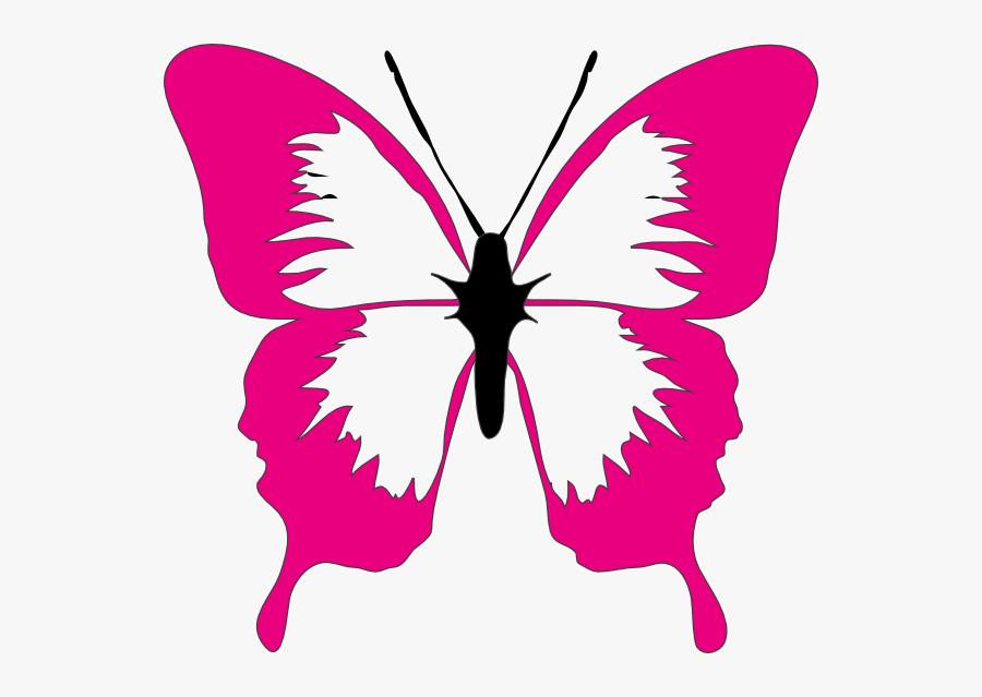 Cute Butterfly Clipart - Colorful Butterflies Clip Art, Transparent Clipart