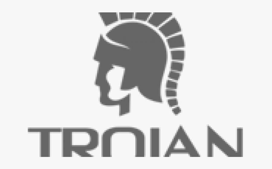 Transparent Trojan Helmet Clipart - Trojan Condom Logo Png, Transparent Clipart