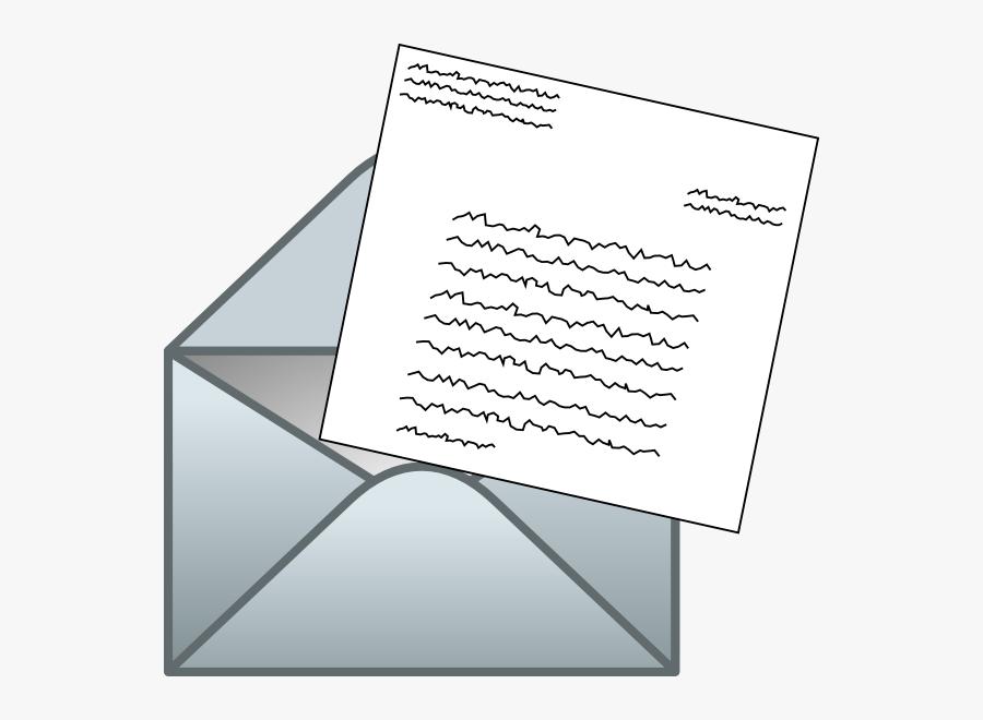 Letter Clip Art At Clker - Letter Clip Art, Transparent Clipart