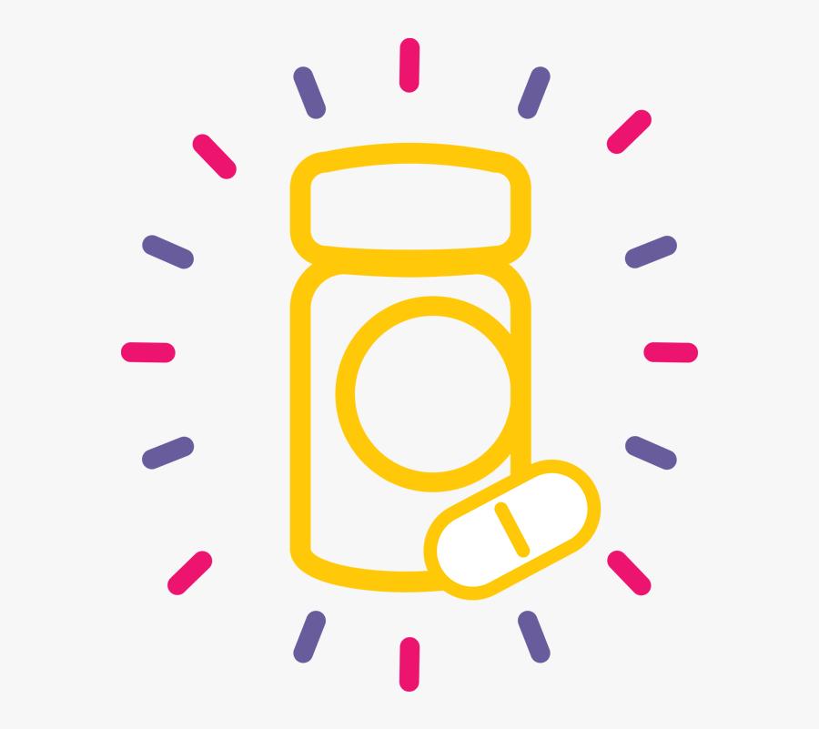 Usana Dr Oz Segment - Vitamin D Icon Png, Transparent Clipart