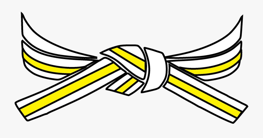 Taekwondo Belt Drawing, Transparent Clipart