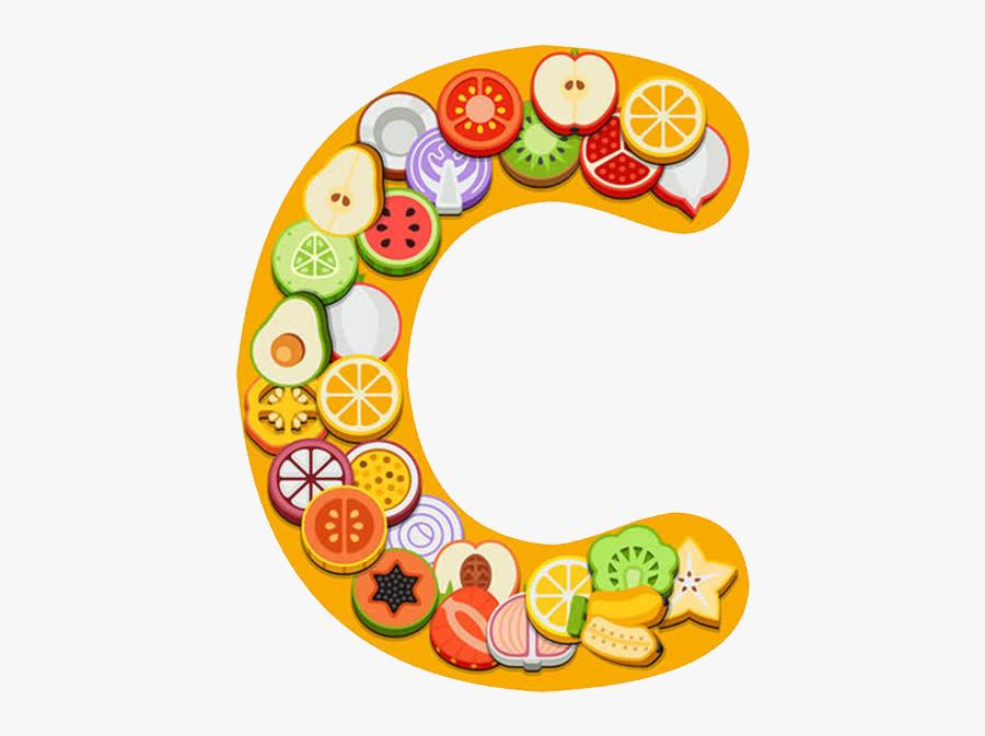 73267 - Vitamin C Clip Art, Transparent Clipart