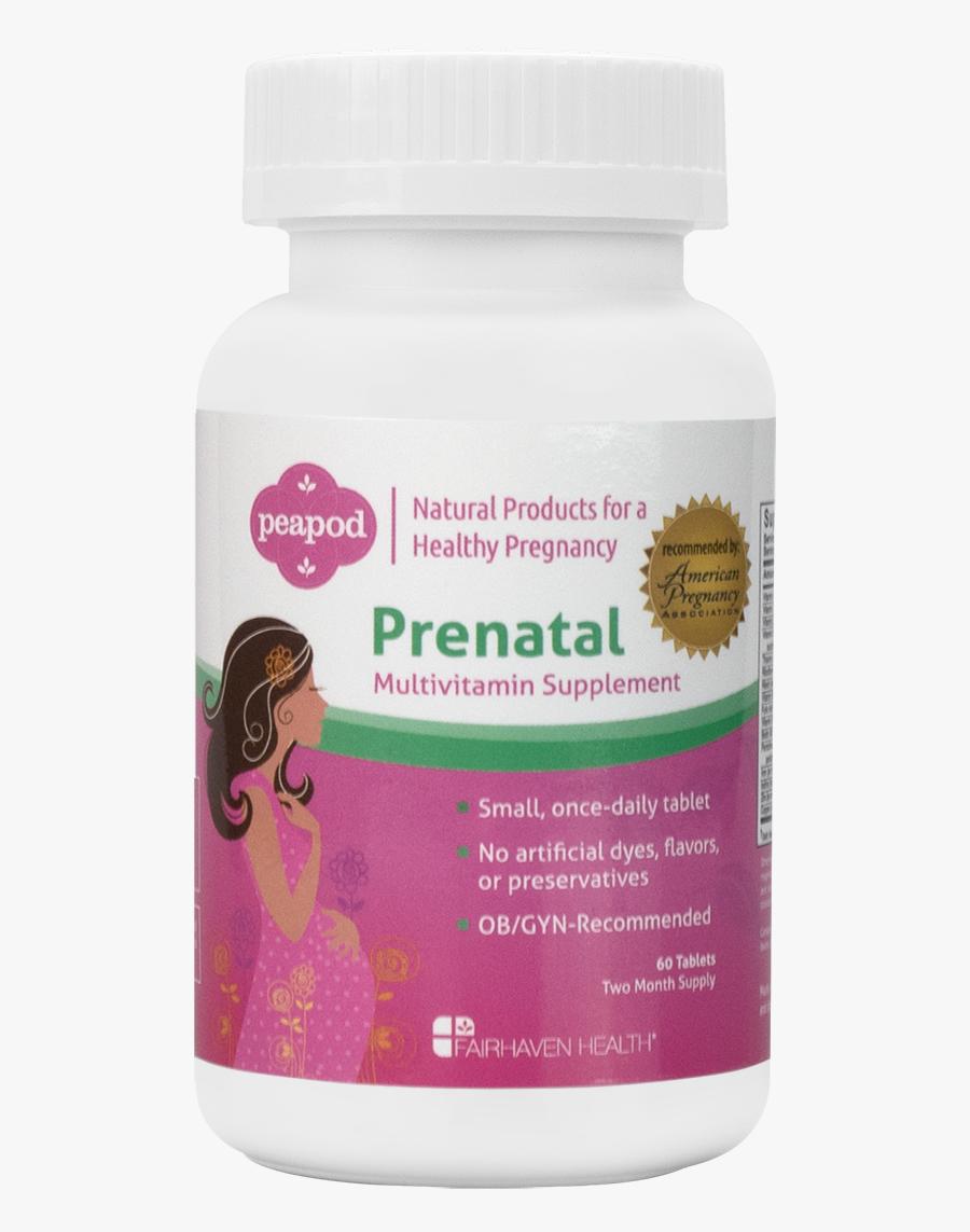 Vitamins Peapod All Natural - Purple Coneflower, Transparent Clipart