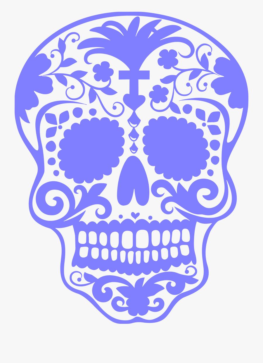 Dia De Los Muertos Clip Art, Transparent Clipart