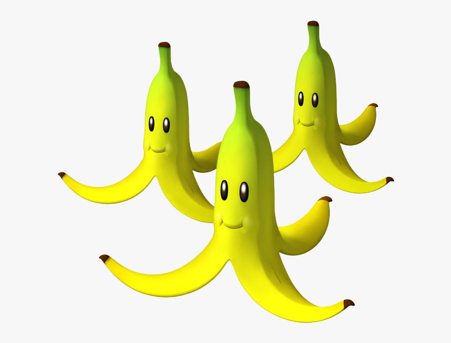 9 Uncommon Uses For Banana Peels - Mario Kart Banana Peel, Transparent Clipart