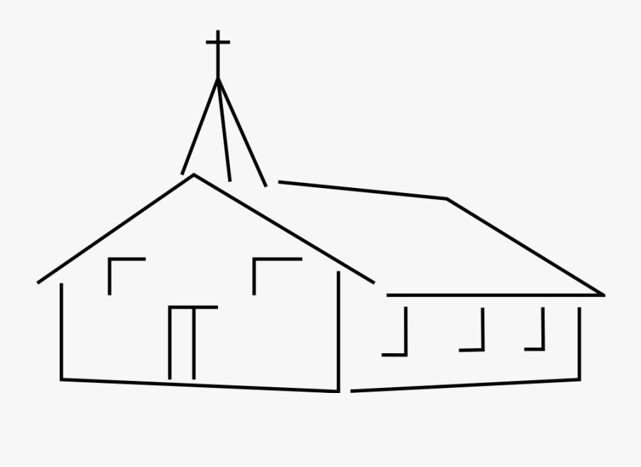 Church Building Clipart, Vector Clip Art Online, Royalty - Church Building Clip Art, Transparent Clipart