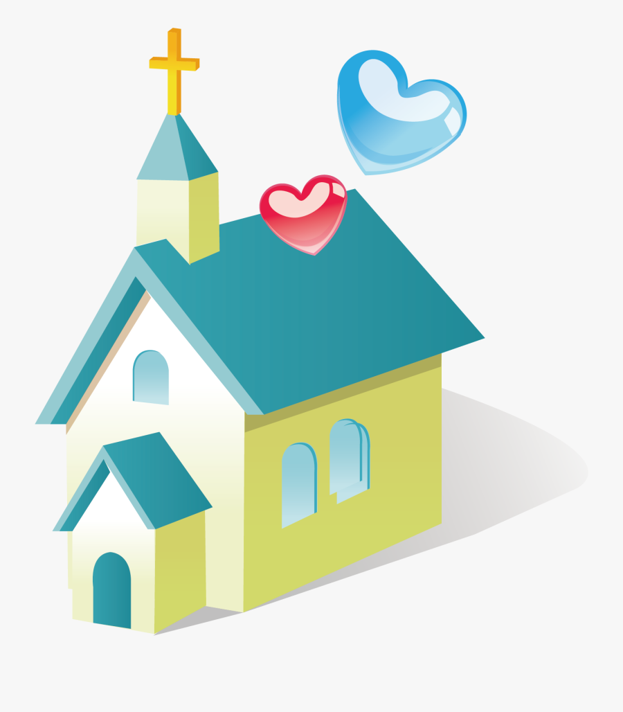 Christian Church Building Architecture Clipart , Png - Memory Verse For Wedding At Cana, Transparent Clipart