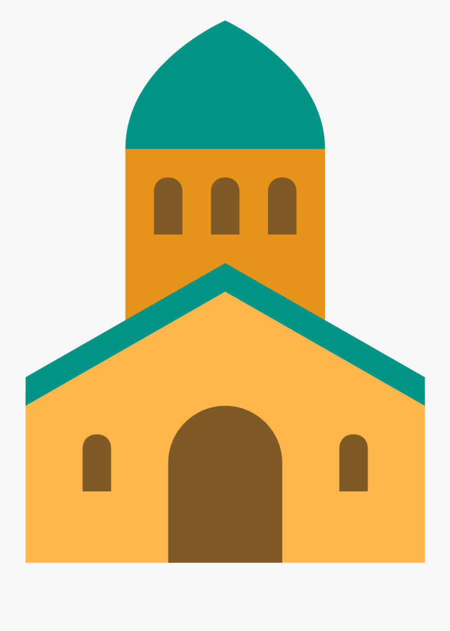 The City Church Is A Building With A Steeple On Top - Arch, Transparent Clipart