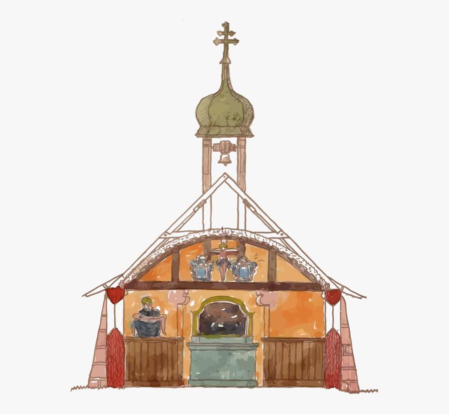 Building,convent,parish - Parish, Transparent Clipart