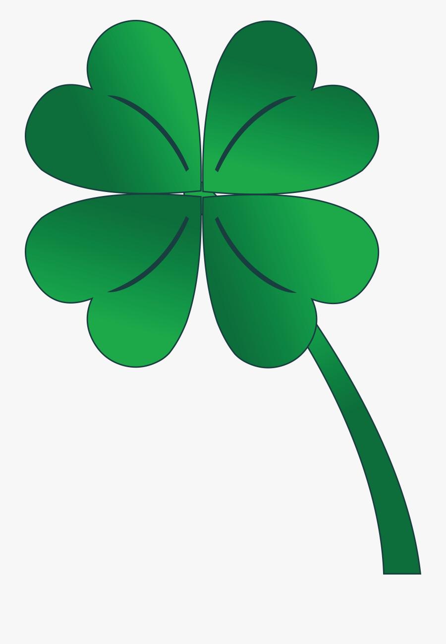 "Patrick""s Day Shamrock - Clipart 4 Leaf Clover, Transparent Clipart"