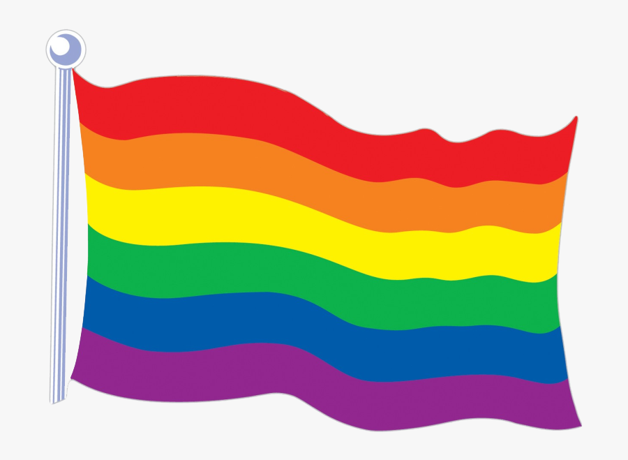 Rainbow Flag Transparent - Lgbt Flag Clipart Transparent ...