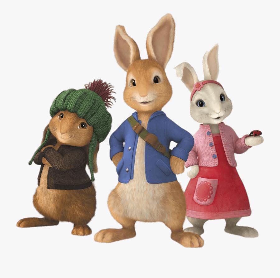 Peter Rabbit And Friends - Peter Rabbit And Friends Cartoon, Transparent Clipart