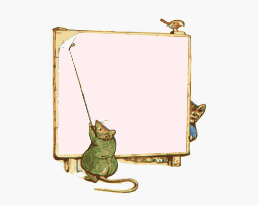 Picture Frame,computer Icons,peter Rabbit Print - Peter Rabbit Frame Png, Transparent Clipart