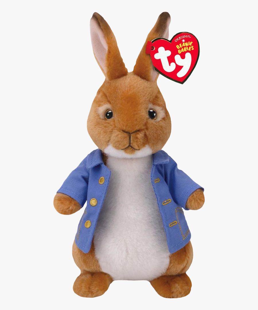 Peter Rabbit Beanie Boo - Peter Rabbit Beanie Babies, Transparent Clipart