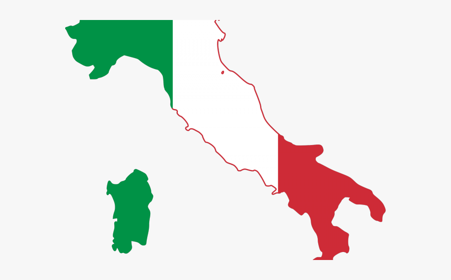 East Germany Flag Clipart Bubble - Kingdom Of Italy Flag Map, Transparent Clipart