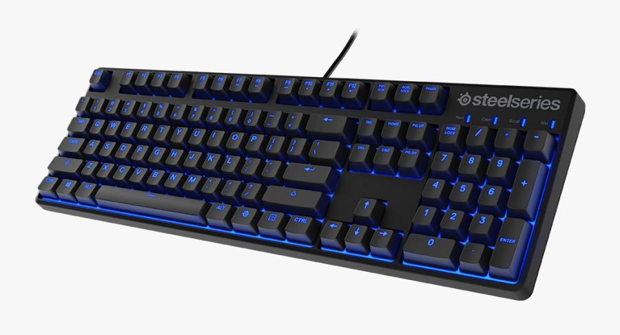 Keypad Png Hd Transparent - Steelseries Apex 100 Keyboard, Transparent Clipart