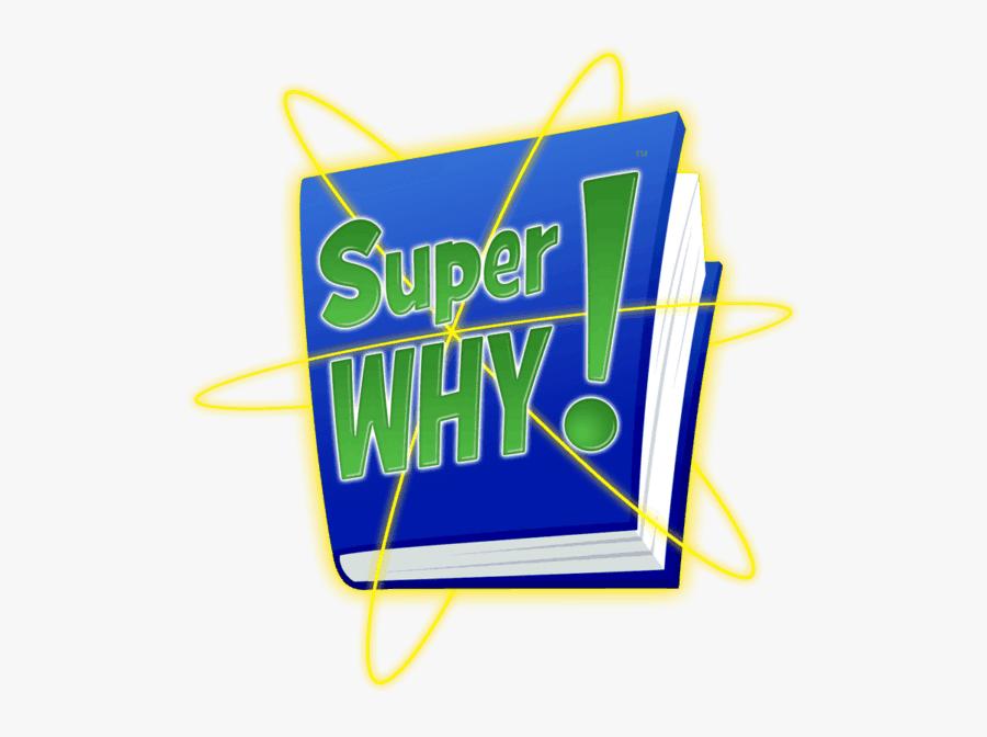 Transparent Jack And The Beanstalk Clipart - Super Why Logo, Transparent Clipart