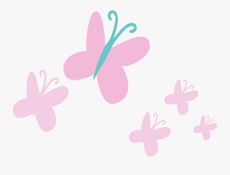 Transparent Fluttershy Cutie Mark Png - Mlp Rainbow Power Cutie Marks, Transparent Clipart